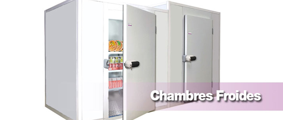 Chambres froides somafrac for Rideau chambre froide